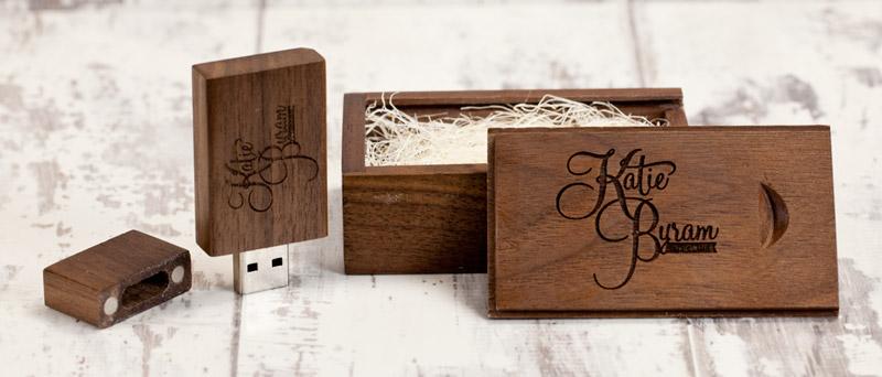 Hộp đựng quà tặng bằng gỗ pck03