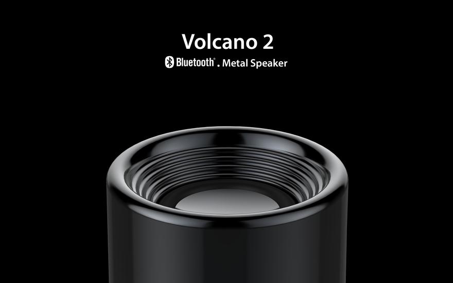 Quà tặng Loa bluetooth Volcano 2