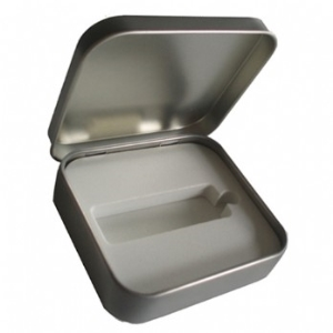 Flip Tin Box Square-PCK10