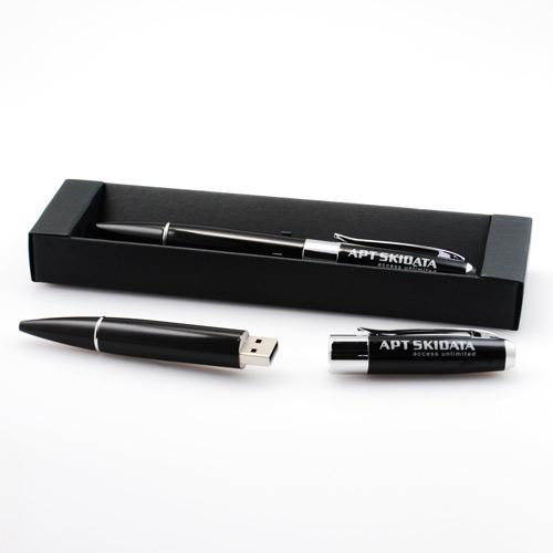 Quà tặng USB bút có đèn Executive