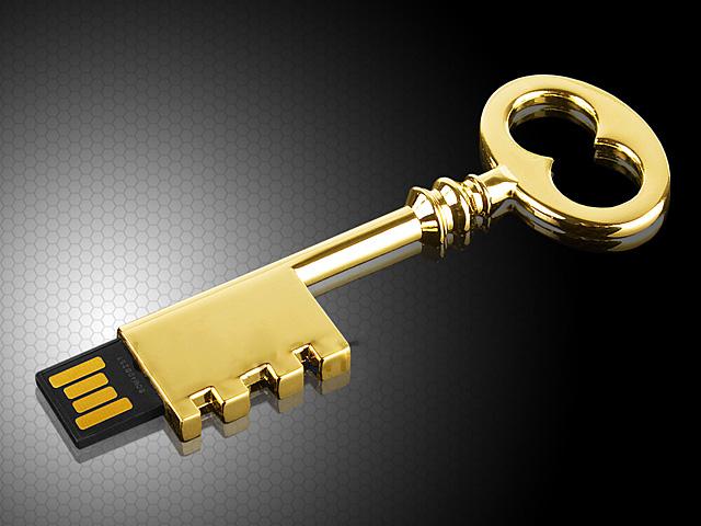 quà tặng usb chìa khóa cổ điển usk10