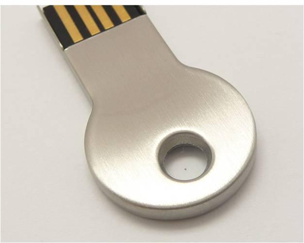 quà tặng usb chìa khóa tròn usk08