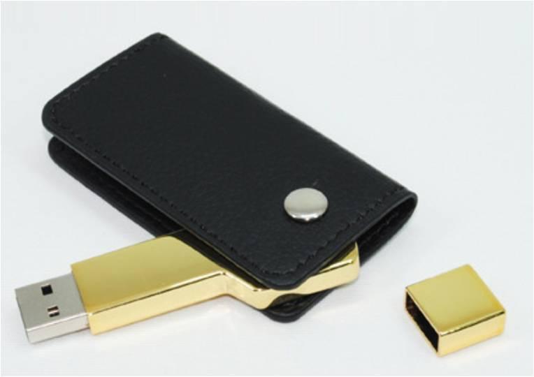 quà tặng doanh nghiệp USB da chìa khóa