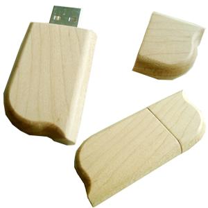 quà tặng usb gỗ hình chiếc lá