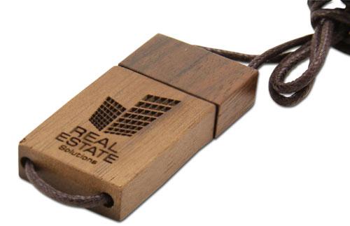 usb quà tặng gỗ dây usw08