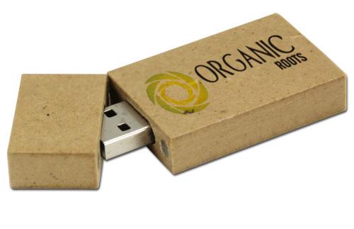 USB quà tặng làm từ giấy tái chế USW36
