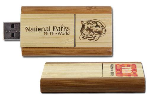 usb quà tặng gỗ xoay usw10