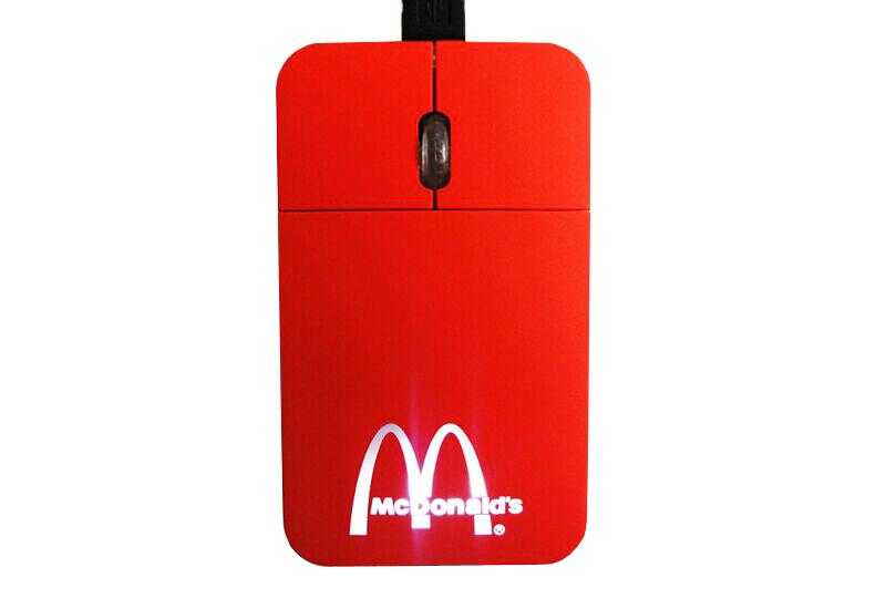 Chuột máy tính logo phát quang-quà tặng doanh nghiệp