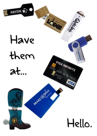Grab Attention at Tradeshows with these Custom USBs